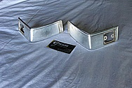 Steel GMC Corner Trim Pieces BEFORE Chrome-Like Metal Polishing and Buffing Services / Restoration Services