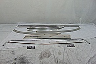 Stainless Steel Trim Pieces BEFORE Chrome-Like Metal Polishing - Stainless Steel Polishing - Trim Polishing