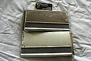 Steel Trim Pieces BEFORE Chrome-Like Metal Polishing and Buffing Services / Restoration Services