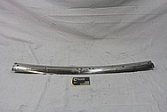 1967 Chevrolet Corvette Steel Trim Piece BEFORE Chrome-Like Metal Polishing and Buffing Services / Restoration Services