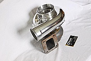 Aluminum Precision Turbo Housing AFTER Chrome-Like Metal Polishing and Buffing Services / Restoration Services