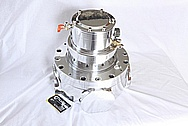 Fanuc Robotics Laser Aluminum Turbo Blower Housing AFTER Chrome-Like Metal Polishing and Buffing Services / Restoration Services