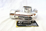 Garrett GT 2050 Aluminum Harley Davidson Motorcycle Turbo Housing AFTER Chrome-Like Metal Polishing and Buffing Services / Restoration Services