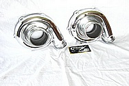 Garrett Aluminum Turbocharger AFTER Chrome-Like Metal Polishing and Buffing Services / Restoration Services