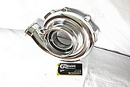 Aluminumg Turbo Compressor Housing AFTER Chrome-Like Metal Polishing and Buffing Services / Restoration Services