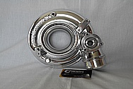 Aluminum Turbo Housing AFTER Chrome-Like Metal Polishing and Buffing Services / Restoration Services