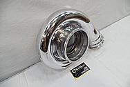 Garrett Aluminum Turbo AFTER Chrome-Like Metal Polishing and Buffing Services