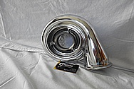 Aluminum Turbo AFTER Chrome-Like Metal Polishing and Buffing Services