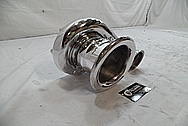 Aluminum Precision Turbo AFTER Chrome-Like Metal Polishing and Buffing Services