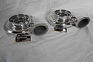 Aluminum Turbo Housing AFTER Chrome-Like Metal Polishing and Buffing Services