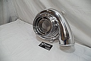 Toyota Supra Aluminum Turbo Housing AFTER Chrome-Like Metal Polishing and Buffing Services