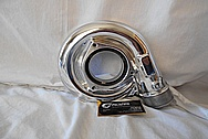 IHI Aluminum Turbo Housing AFTER Chrome-Like Metal Polishing - Aluminum Polishing
