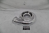Precision Turbo Aluminum Turbo Housing AFTER Chrome-Like Metal Polishing - Aluminum Polishing