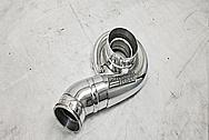 Precision Turbo Aluminum Turbo Housing AFTER Chrome-Like Metal Polishing and Buffing Services - Aluminum Polishing