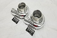 Precision Turbo Aluminum Turbo Housing AFTER Chrome-Like Metal Polishing and Buffing Services - Aluminum Polishing