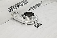 Mazda RX-7 Garrett Aluminum Turbo Housing AFTER Chrome-Like Metal Polishing and Buffing Services / Restoration Services - Aluminum Polishing