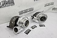 Borg Warner Aluminum Turbo Compressor Housing AFTER Chrome-Like Metal Polishing and Buffing Services / Restoration Services - Aluminum Polishing - Turbo Polishing