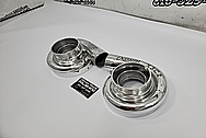 Aluminum Turbo Housing AFTER Chrome-Like Metal Polishing and Buffing Services / Restoration Services - Aluminum Polishing - Turbo Polishing