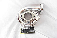 1994 Nissan Skyline 3.2L HKS Aluminum Turbo Housing AFTER Chrome-Like Metal Polishing and Buffing Services