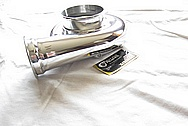 Precision Turbo Aluminum Housing AFTER Chrome-Like Metal Polishing and Buffing Services