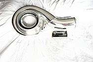 1993 - 1998 Toyota Supra 2JZ-GTETurbo Housing AFTER Chrome-Like Metal Polishing and Buffing Services
