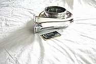 Borg Warner Aluminum Turbo Housing AFTER Chrome-Like Metal Polishing and Buffing Services
