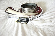 Mazda RX-7 Aluminum Turbo Housing AFTER Chrome-Like Metal Polishing and Buffing Services