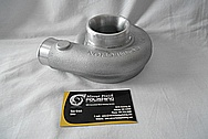 Aluminum Turbo Housing BEFORE Chrome-Like Metal Polishing and Buffing Services