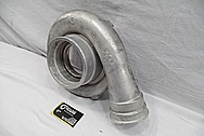 Garrett Aluminum Turbo BEFORE Chrome-Like Metal Polishing and Buffing Services