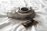 Aluminum Turbo BEFORE Chrome-Like Metal Polishing and Buffing Services