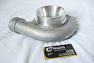 Precision / Garrett Turbo Aluminum Housing BEFORE Chrome-Like Metal Polishing and Buffing Services