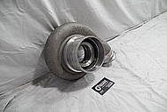 Borg Warner Aluminum Turbo Housing BEFORE Chrome-Like Metal Polishing and Buffing Services