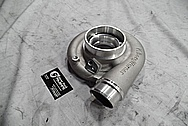 Toyota Supra 2JZ-GTE Borg Warner Aluminum Turbo Housing BEFORE Chrome-Like Metal Polishing and Buffing Services