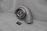 Precision Turbo Aluminum Turbo Housing BEFORE Chrome-Like Metal Polishing - Aluminum Polishing