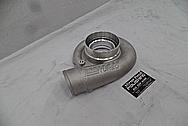 Precision Turbo Aluminum Turbo Housing BEFORE Chrome-Like Metal Polishing - Aluminum Polishing Services