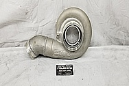 Precision Turbo Aluminum Turbo Housing BEFORE Chrome-Like Metal Polishing and Buffing Services - Aluminum Polishing