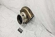Stainless Steel X275 Turbo Housing BEFORE Chrome-Like Metal Polishing and Buffing Services - Steel Polishing
