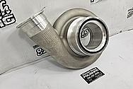 Bullseye Power Turbo Aluminum and Cast Iron Compressor Housing / Turbine Housing BEFORE Chrome-Like Metal Polishing and Buffing Services / Restoration Services - Aluminum Polishing - Cast Iron Polishing - Turbo Polishing - Turbine Housing Polishing