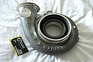 Mazda RX-7 Aluminum Turbo Housing BEFORE Chrome-Like Metal Polishing and Buffing Services