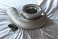 Precision Turbo Aluminum Turbo Housing BEFORE Chrome-Like Metal Polishing and Buffing Services