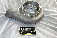 Nissan 350Z Aluminum Turbo Housing BEFORE Chrome-Like Metal Polishing and Buffing Services / Restoration Services