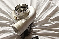 Aluminum Precision Turbo Housing BEFORE Chrome-Like Metal Polishing and Buffing Services / Restoration Services