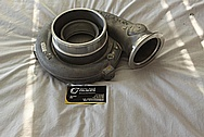 Precision Turbo Aluminum Turbo Housing BEFORE Chrome-Like Metal Polishing and Buffing Services / Restoration Services