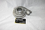 Garrett GT 2050 Aluminum Harley Davidson Motorcycle Turbo Housing BEFORE Chrome-Like Metal Polishing and Buffing Services / Restoration Services