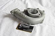 1994 Nissan Skyline 3.2L HKS Aluminum Turbo Housing BEFORE Chrome-Like Metal Polishing and Buffing Services
