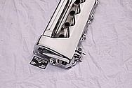 4 Cylinder Aluminum Valve Cover AFTER Chrome-Like Metal Polishing and Buffing Services