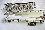 2005, 2006, 2007, 2008, 2009, 2010 Ford Mustang GT 4.6L V8 Magnesium Valve Covers AFTER Chrome-Like Metal Polishing and Buffing Services Plus Clearcoating Services