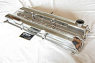 1993 - 1998 Toyota Supra 2JZ-GTE Aluminum Valve Covers AFTER Chrome-Like Metal Polishing and Buffing Services