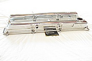 1993 - 1998 Toyota Supra 2JZ-GTE 3.0L Engine Aluminum Valve Covers AFTER Chrome-Like Metal Polishing and Buffing Services