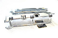 2007 Honda Civic SI Aluminum Valve Cover AFTER Chrome-Like Metal Polishing and Buffing Services